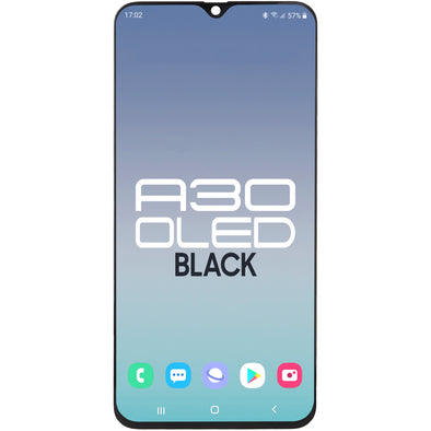 Samsung A30 2019 A305 LCD with Touch Black OLED