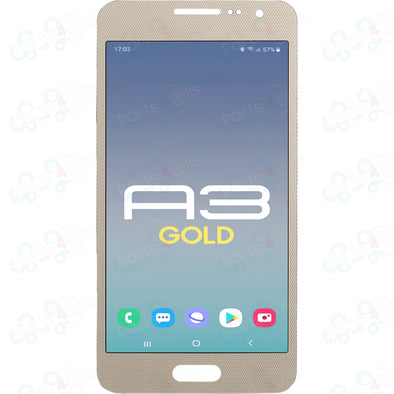 Samsung A3 (2015)  LCD With Touch Gold