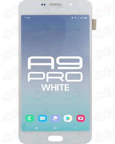 Samsung A9 Pro LCD With Touch White