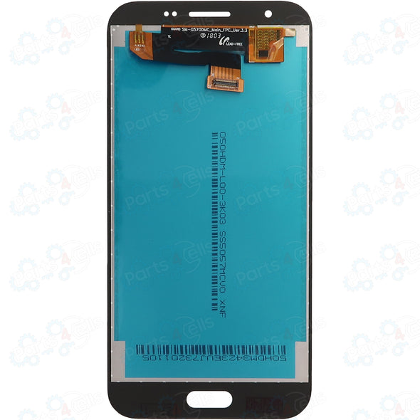 Samsung J3 Emerge LCD With Touch Silver - Back Look