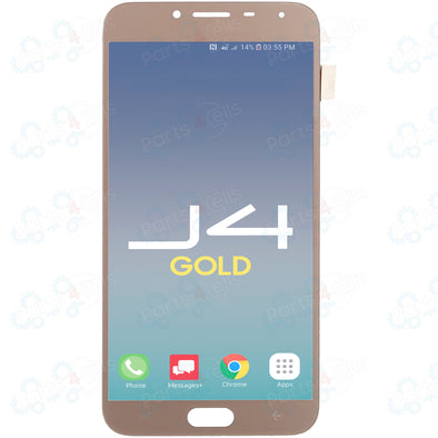 Samsung J4 LCD With Touch Gold