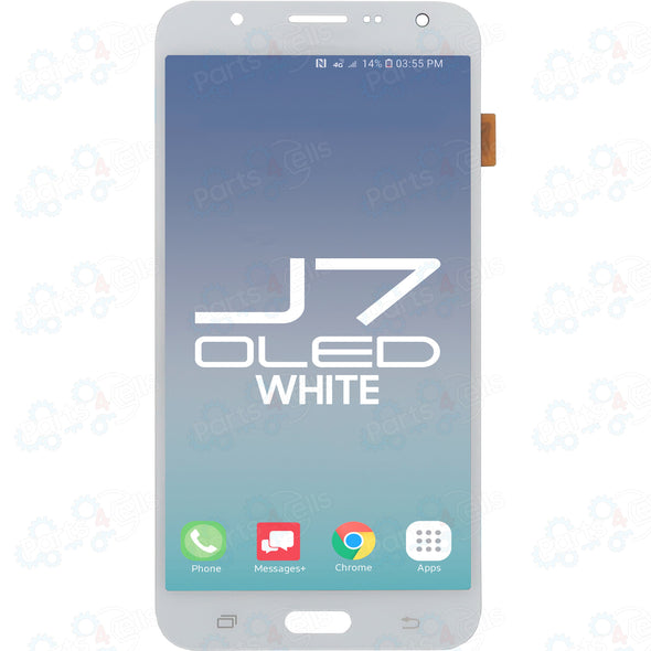 Samsung J7 LCD With Touch White OLED