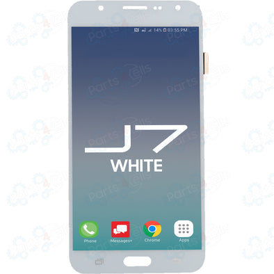 Samsung J7 LCD With Touch White