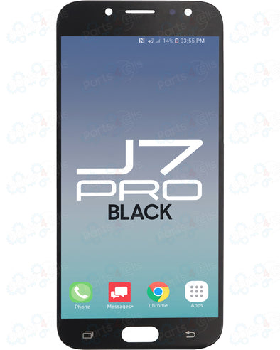 Samsung J7 Pro LCD with Touch Black