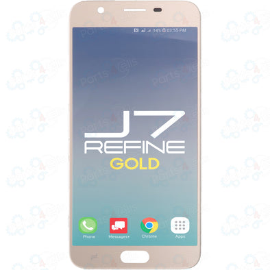 Samsung J7 Refine LCD With Touch Gold 2018