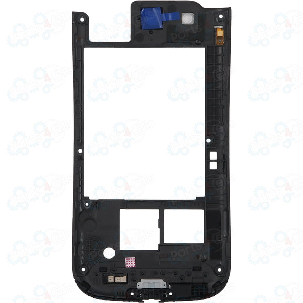 Samsung S3 Back Frame Black