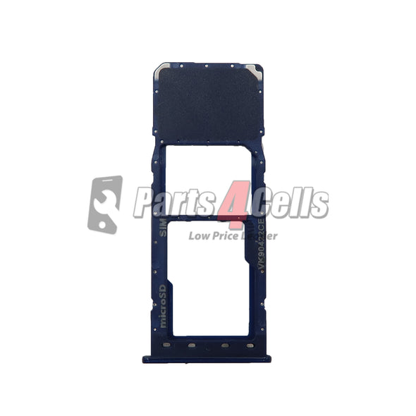 Samsung A10 Sim Tray Blue - Sim Card Tray Replacement
