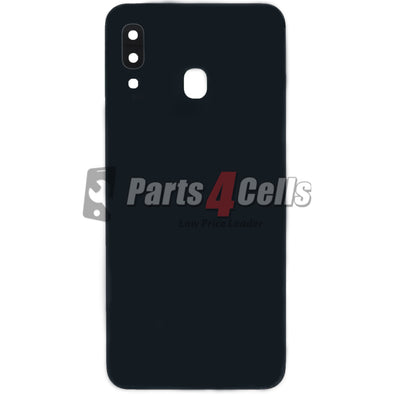 Samsung A30 Back Door Black - A30 Back Door Replacement