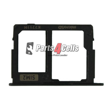 Samsung J6 Sim Tray Black-Parts4Cells