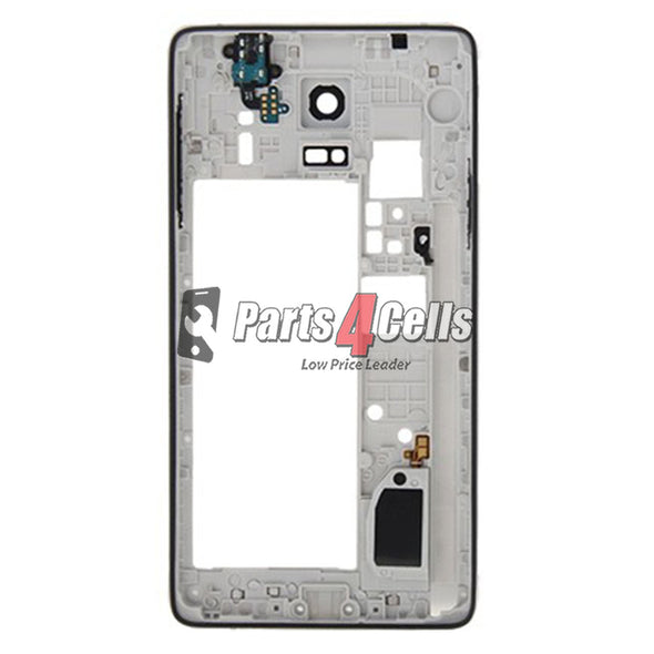 Samsung Note 4 Middle Frame GSM Black-Parts4sells