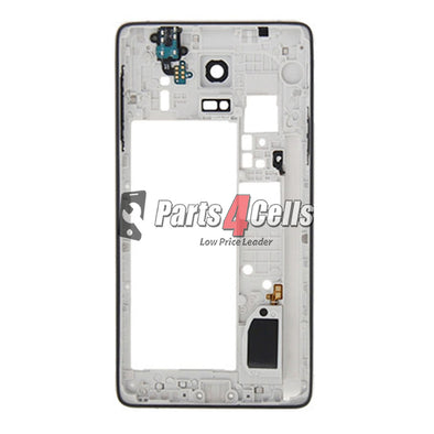 Samsung Note 4 Middle Frame GSM White-Parts4sells