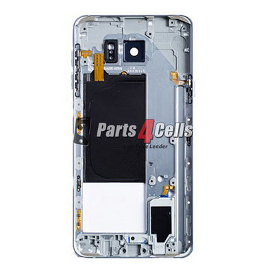 Samsung Note 5 Middle Frame Blue-Parts4cells