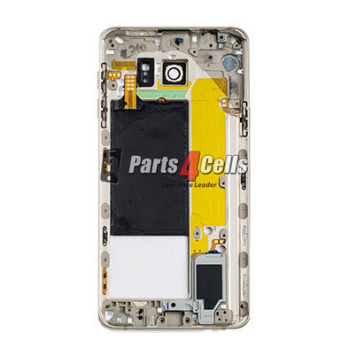 Samsung Note 5 Middle Frame Gold-Parts4cells