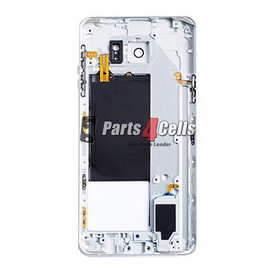 Samsung Note 5 Middle Frame White-Parts4cells