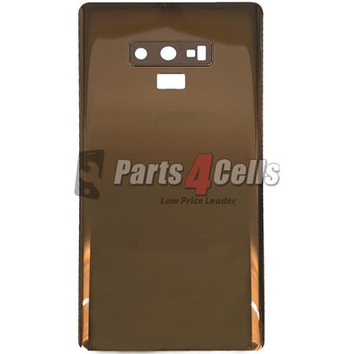 Samsung Note 9 Back Door Gold With Camera Lens
