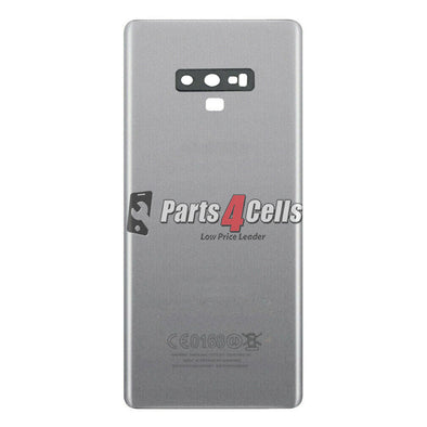 Samsung Note 9 Back Door Silver With Camera Lens-Parts4sells
