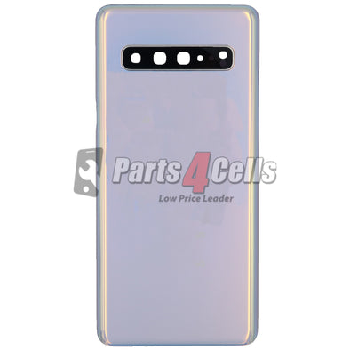 Samsung S10 5G Back Door Crown Silver