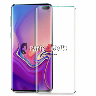 Samsung S10 Plus Tempered Glass - UV Type Glass
