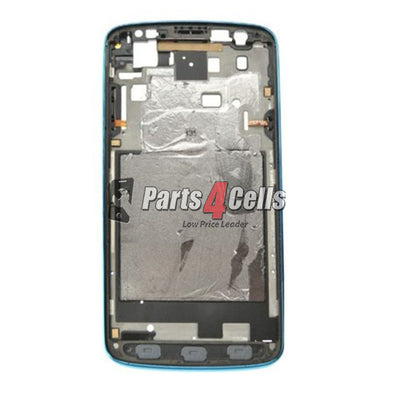 Samsung S4 Active LCD Frame Blue-Parts4sells