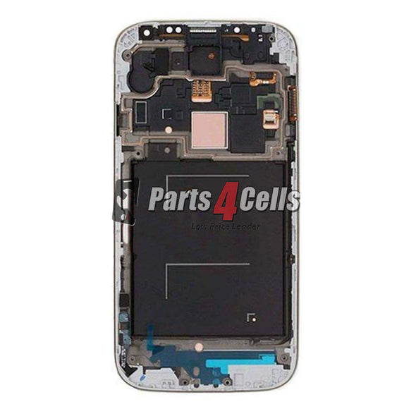 Samsung S4 LCD With Touch + Frame Blue AT&T / T-Mobile-Parts4sells