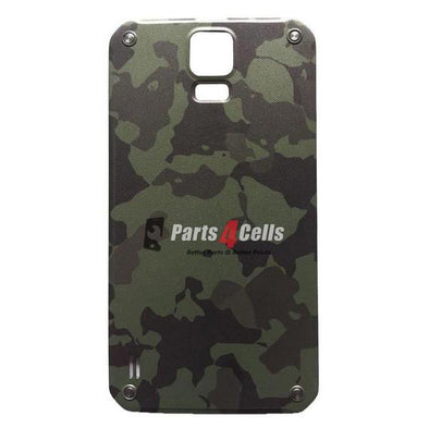 Samsung S5 Active Back Door Green-Parts4cells