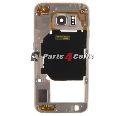 Samsung S6 Middle Frame Gold-Parts4Cells