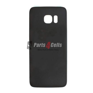 Samsung S7 Edge Back Door Black-Parts4Cells