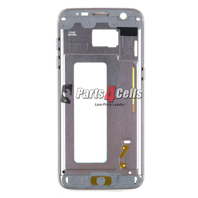 Samsung S7 Middle Frame Black-Parts4Cells
