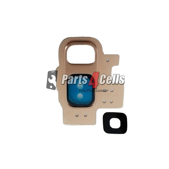 Samsung S9 Back Camera Lens Gold & Replacement Parts