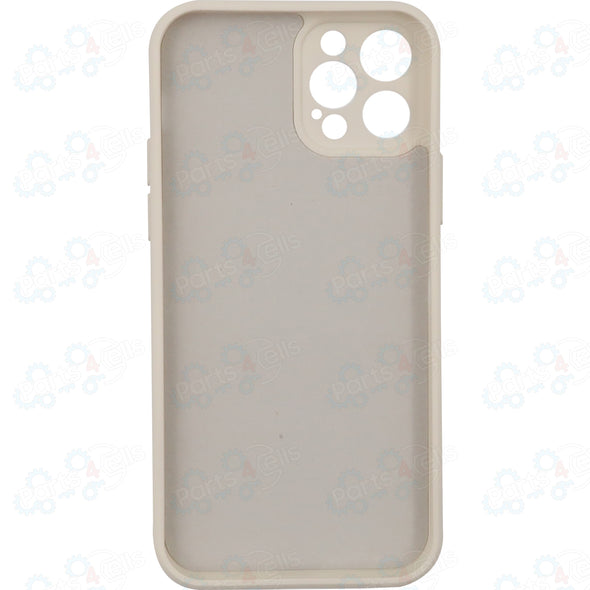 iPhone 12 Pro Max Silicone Case Beige With MagSafe