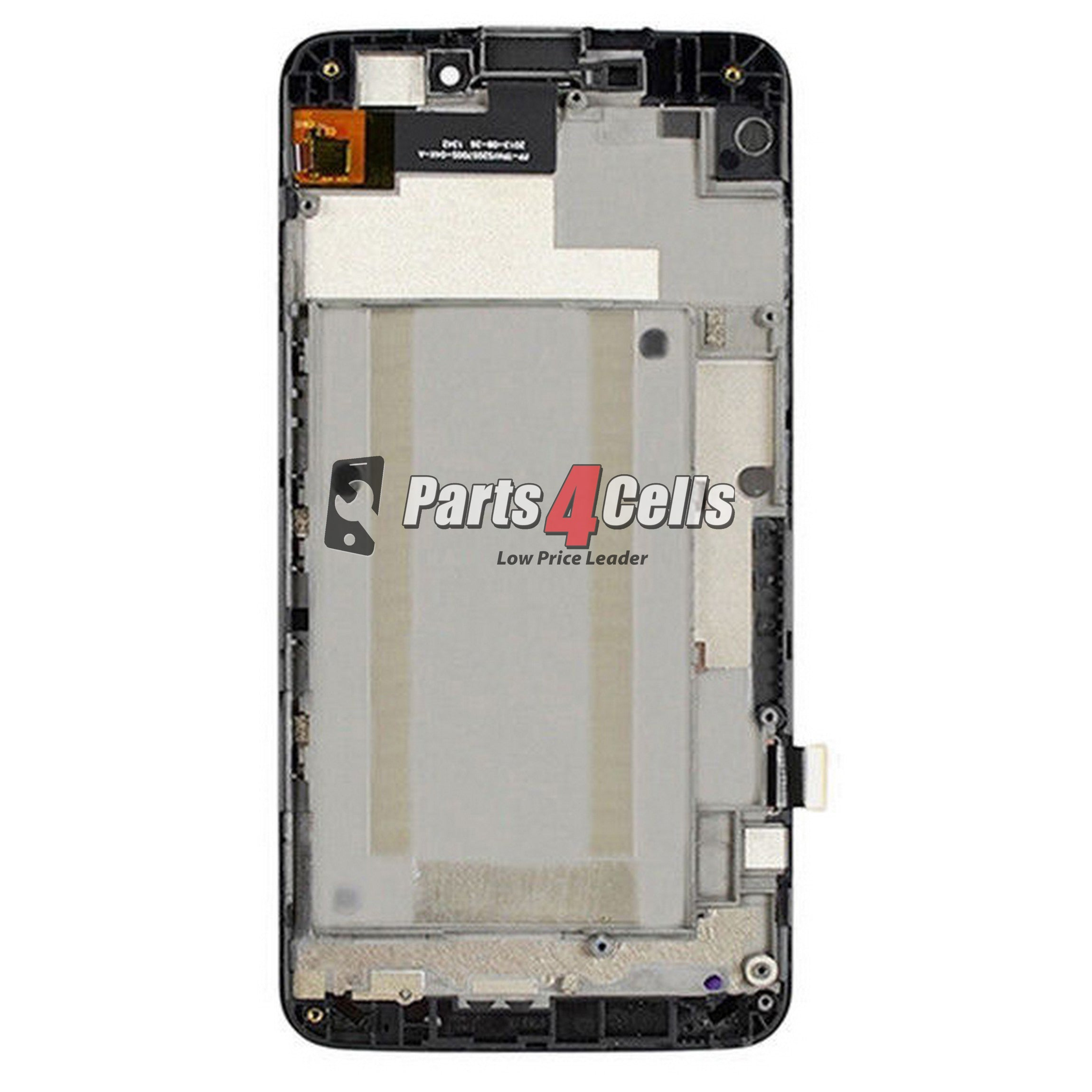 ZTE N9520 Boost Max LCD With Touch  Frame Black-Parts4Cells