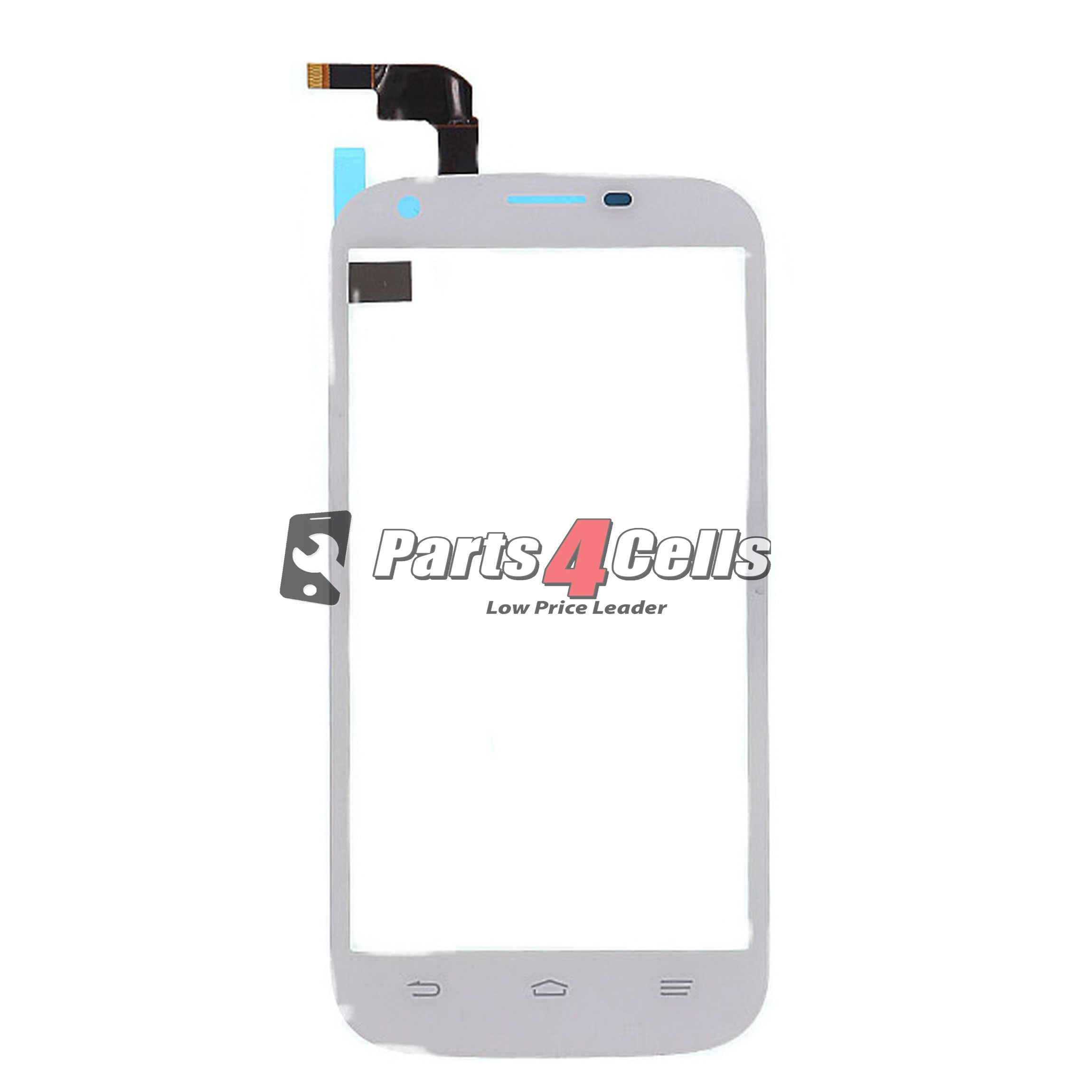ZTE Z777 Grand X LCD With Touch White-Parts4Cells