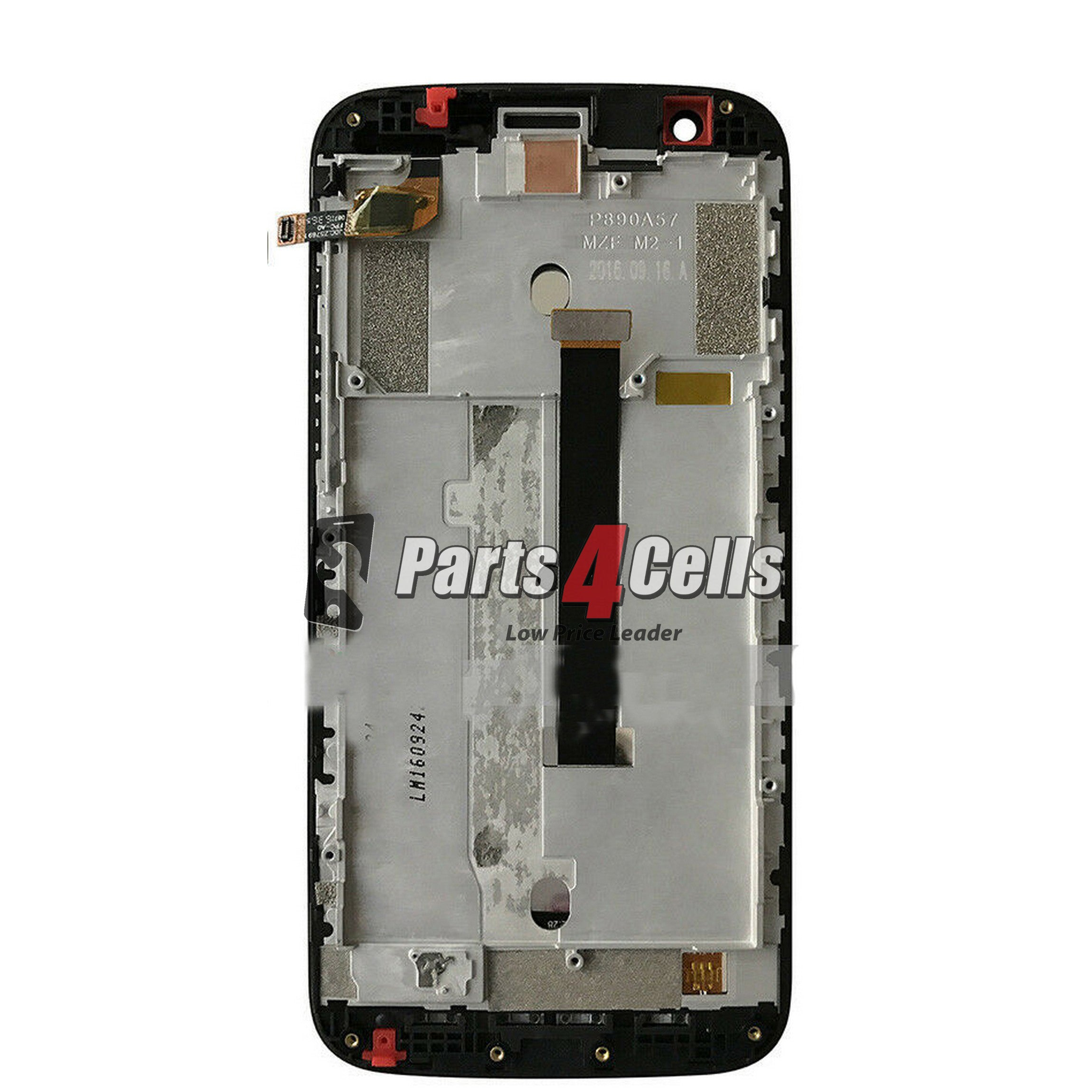 ZTE Z959 Grand X3 LCD  Touch Black And Frame-Parts4Cells