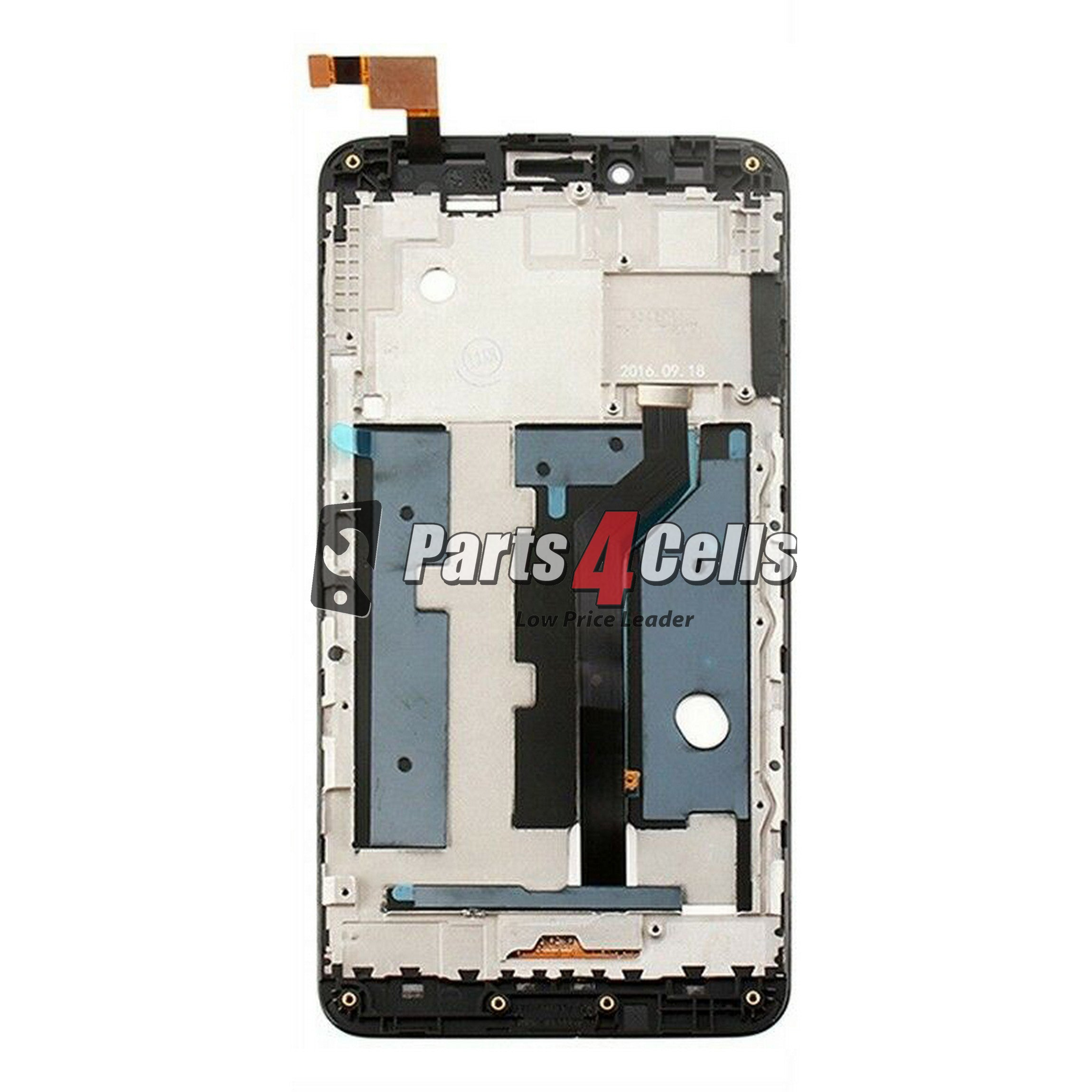 ZTE Z981 Zmax Pro LCD With Touch Black Frame-Parts4Cells