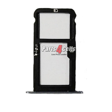 ZTE Z982 Blade Z Max Sim Tray Black-Parts4Cells