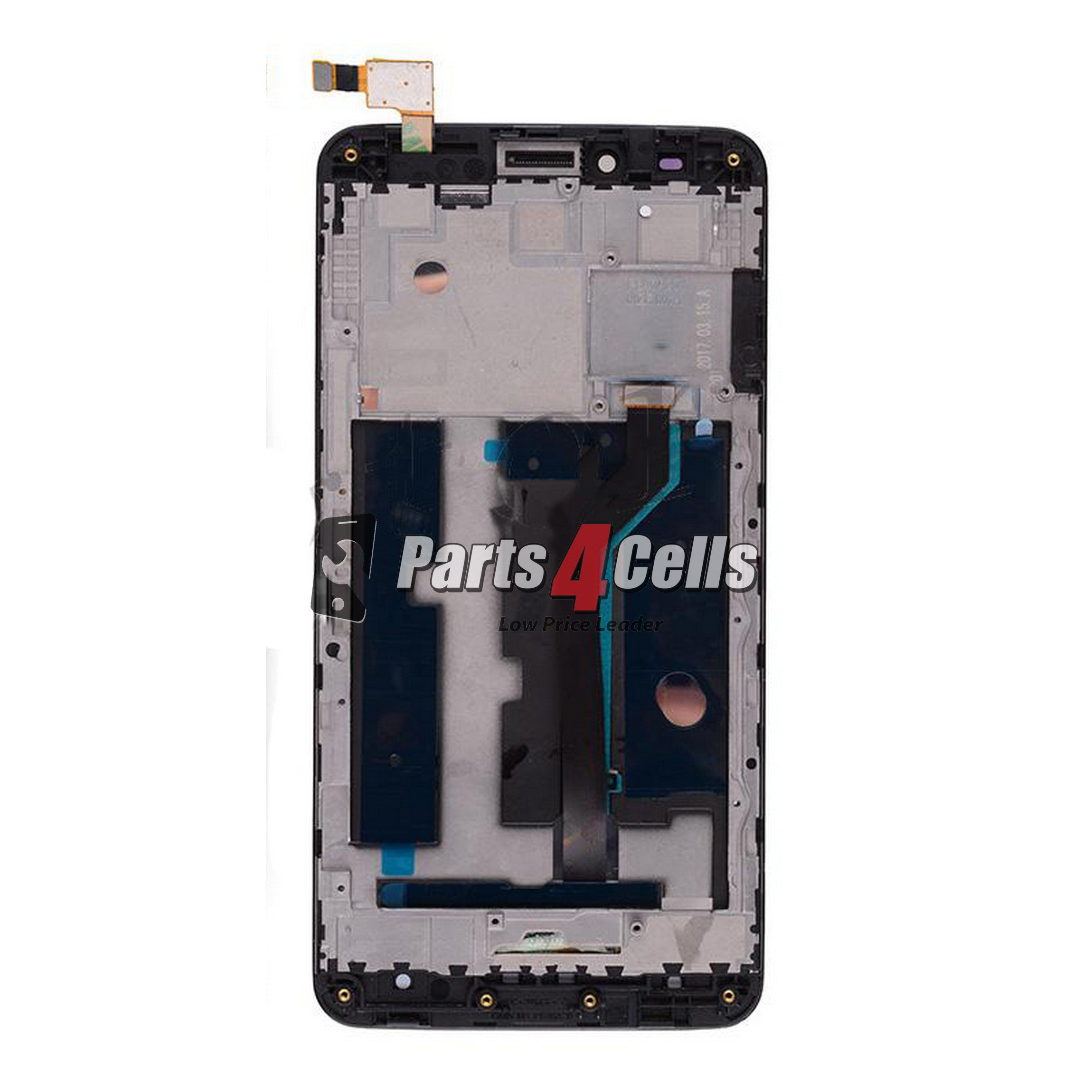 ZTE Z983 Blade X Max Lcd  Touch And Frame-Parts4Cells