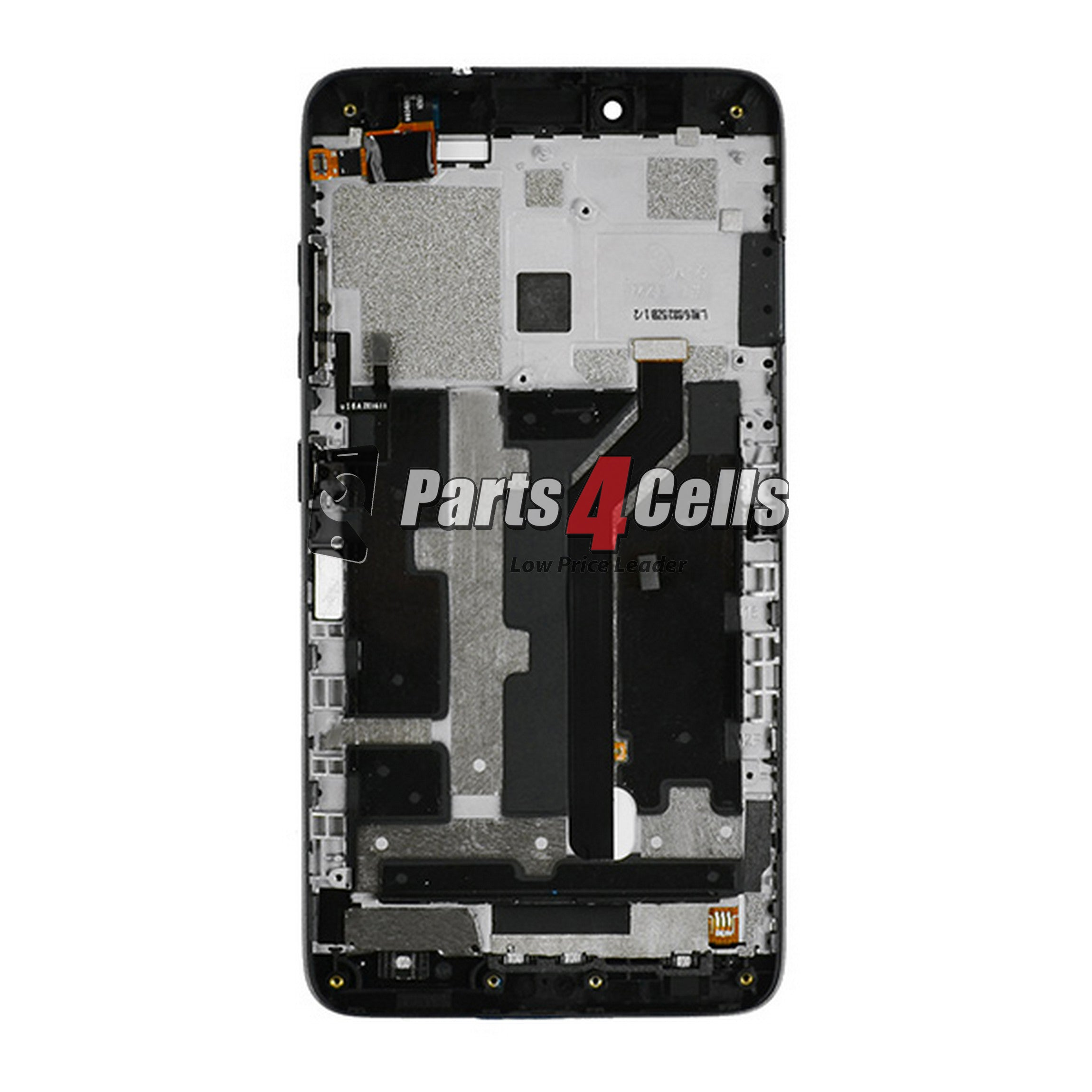 ZTE Z988 Grand X Max 2 LCD With Touch Black Frame-Parts4Cells