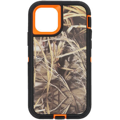 iPhone 11 Pro Camo Series Case Orange