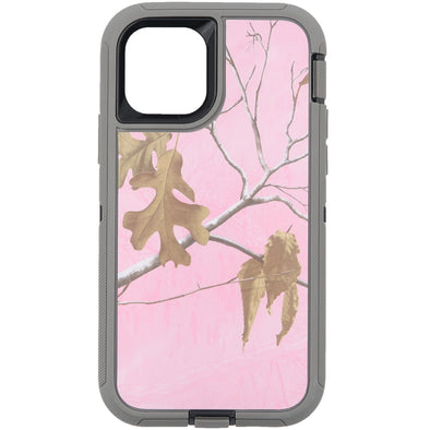 iPhone 11 Pro Camo Series Case Pink and Grey