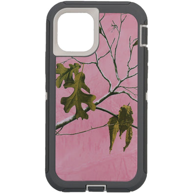 iPhone 11 Pro Camo Series Case Pink and White
