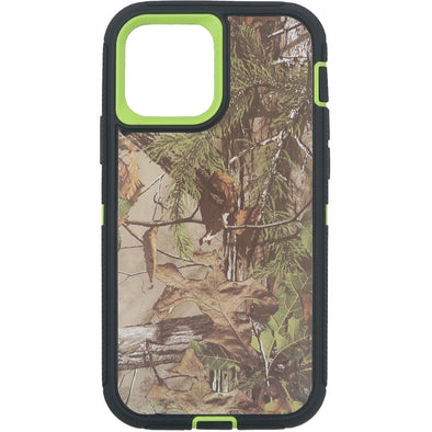 iPhone 12 / iPhone 12 Pro Camo Series Case Green