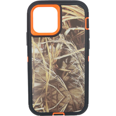 iPhone 12 / iPhone 12 Pro Camo Series Case Orange