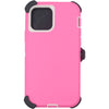 iPhone 12 & 12 Pro Case Pro Series Pink - Back