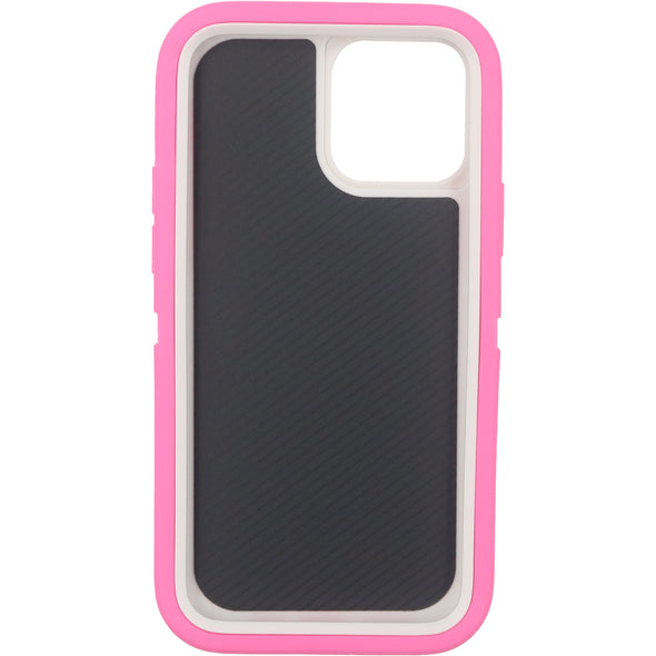 iPhone 12 & 12 Pro Case Pro Series Pink - Front