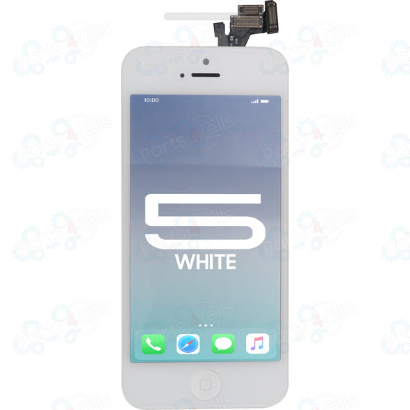 iPhone 5 LCD with Touch Super High Copy LCD + Fully Assembled White