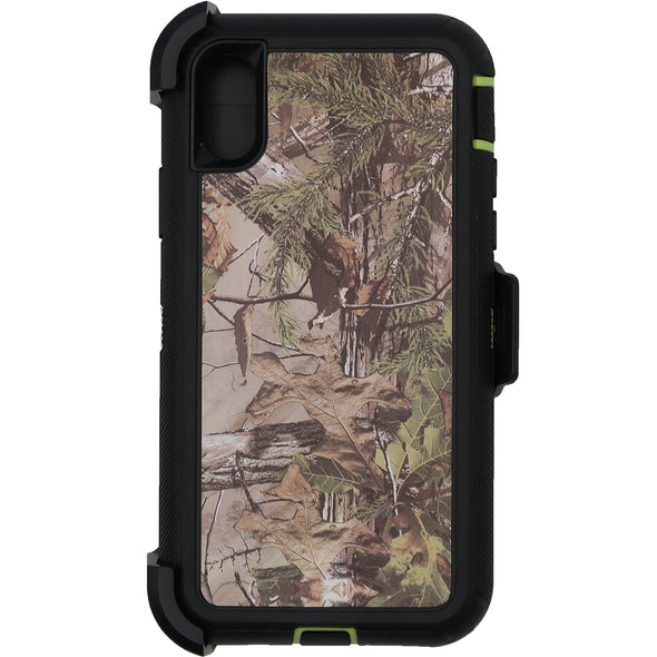 iPhone X / XS Camo Series Case Green