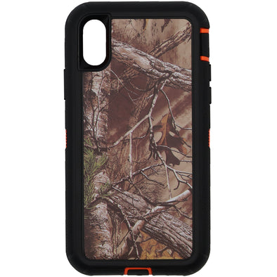 iPhone X / XS Camo Series Case Orange