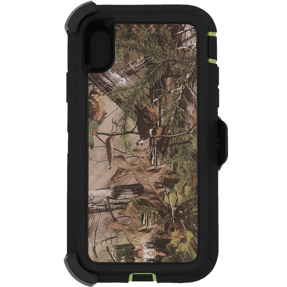 iPhone XR Camo Series Case Green