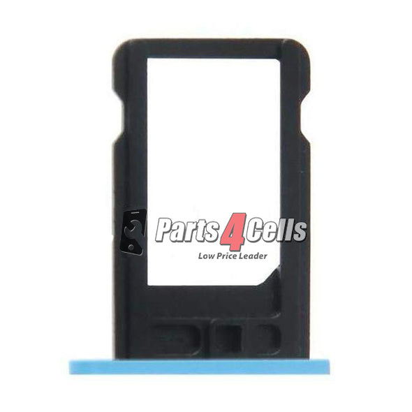 iPhone 5C Phone Sim Tray Blue-Parts4Cells