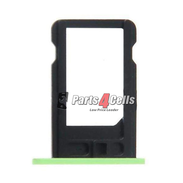 iPhone 5C Phone Sim Tray Green-Parts4Cells